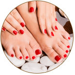 Manicure, Pedicure Shellac